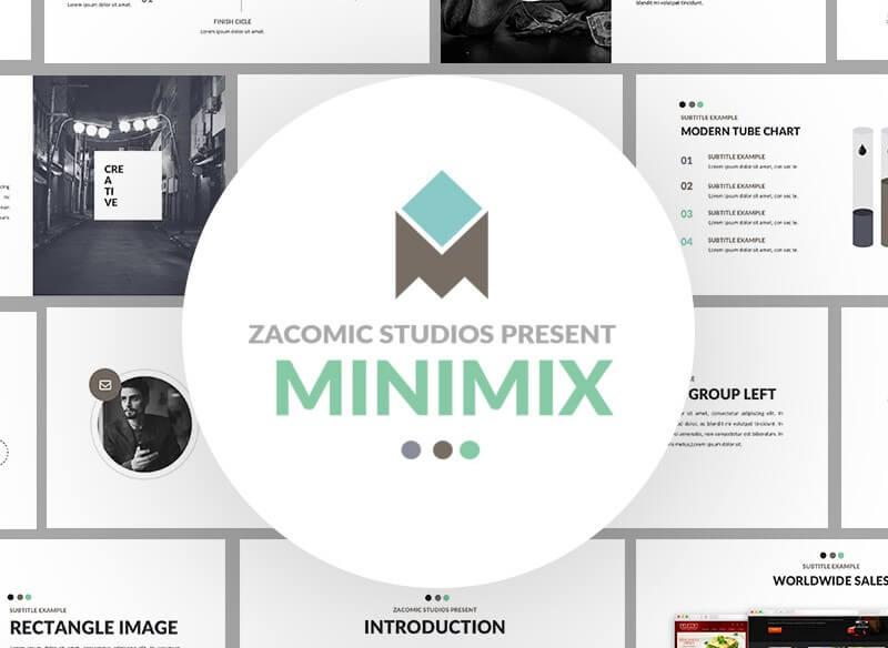 Szablony PowerPoint - Minimax
