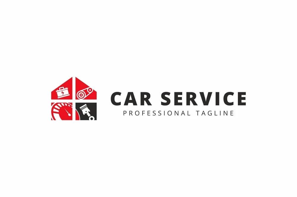 Car Service Logo Template.