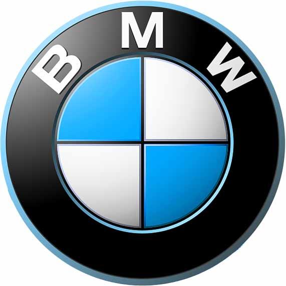 BMW - logo typu emblem
