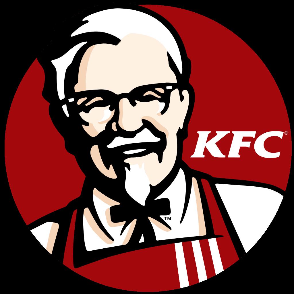 Logo KFC jako przykład logo-maskotki