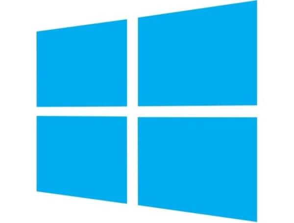 Windows jako przykład logo abstrakcyjnego