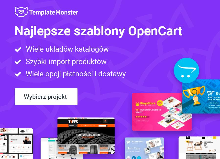 szablony opencart