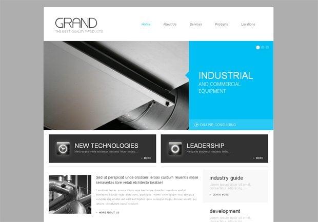 Grand WordPress шаблон