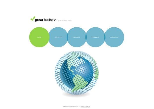 Great Business WordPress шаблон