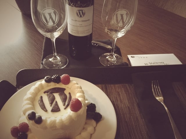 wordpress-cake