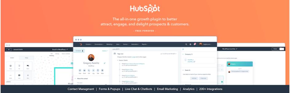 HubSpot бесплатный виджет