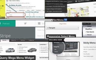 Скрин навигации по сайту.