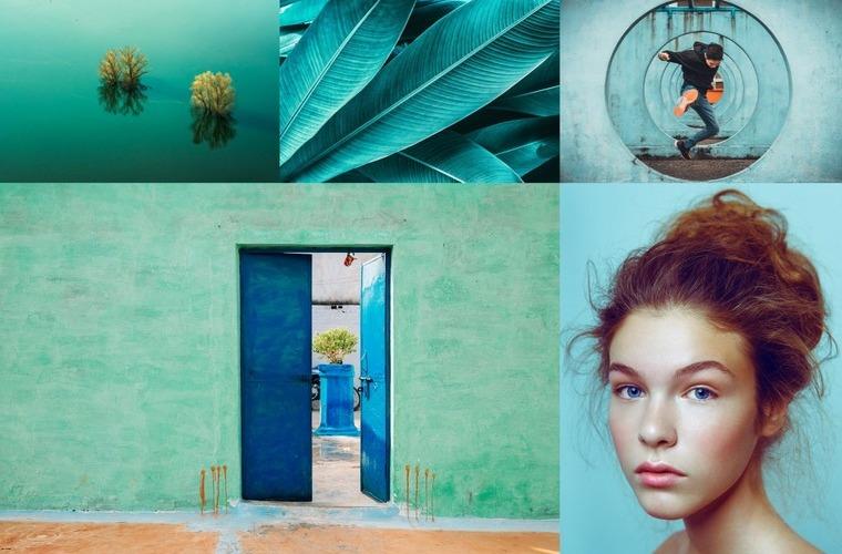 Color Trends 2020 Aqua Mente