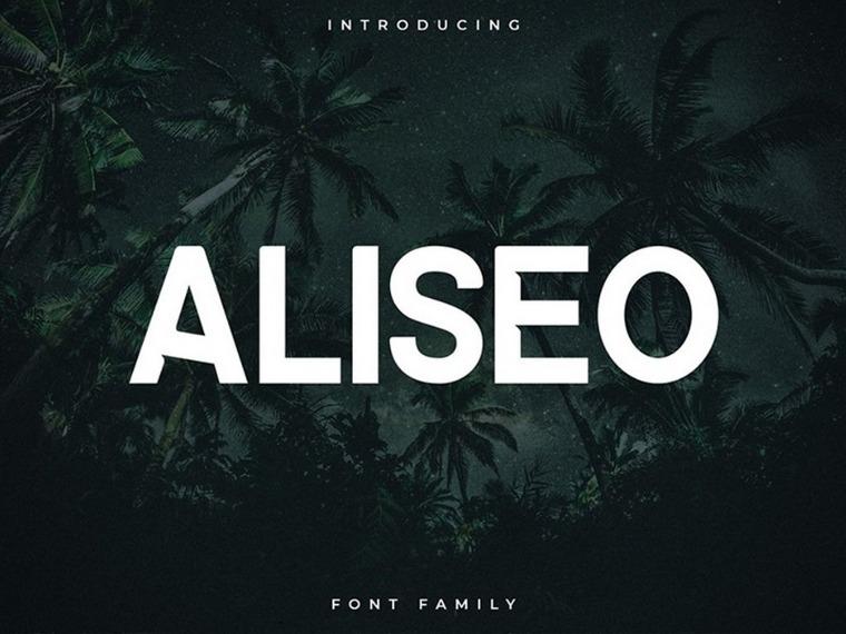 Aliseo font