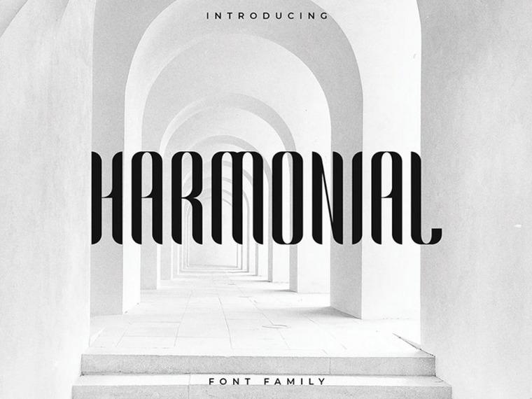 Harmonial font