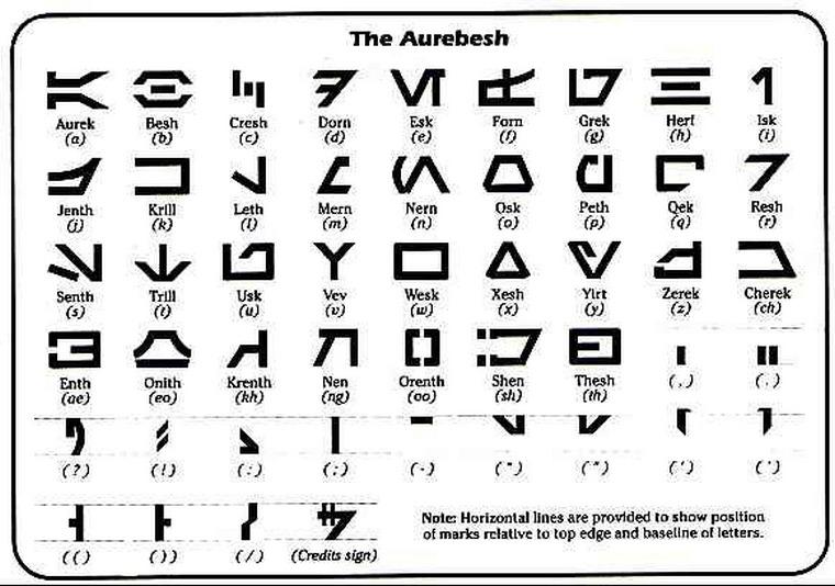 aurek-besh font