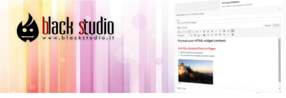 Black Studio бесплатный виджет