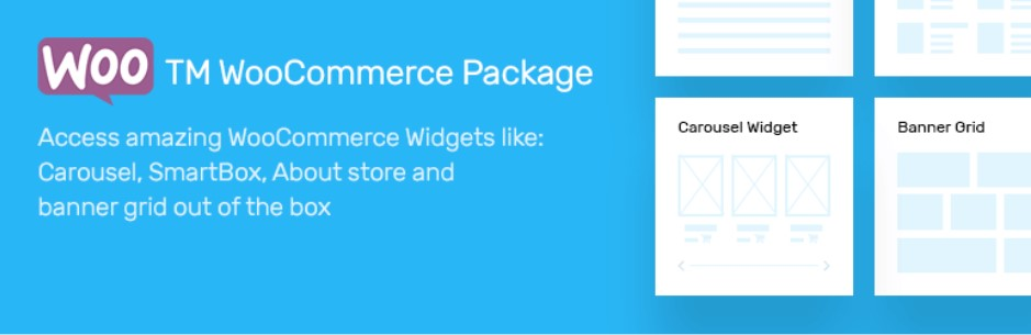 WooCommerce Package виджет