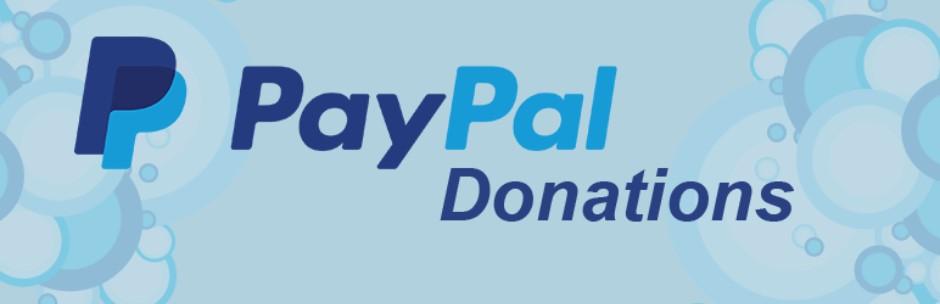 Виджет PayPal Donations