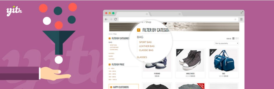 Виджет YITH WooCommerce Ajax Product Filter