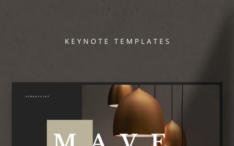 MAVE Keynote шаблоны