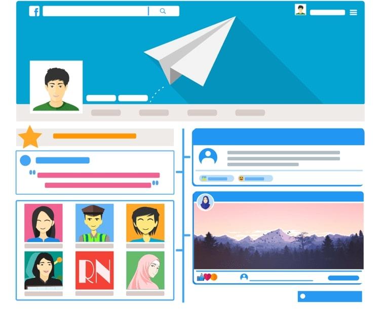 профиль социальные сети