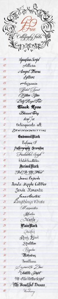 40-Free-Calligraphy-Fonts