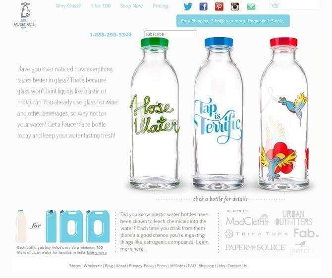 Glass-Water-Bottles