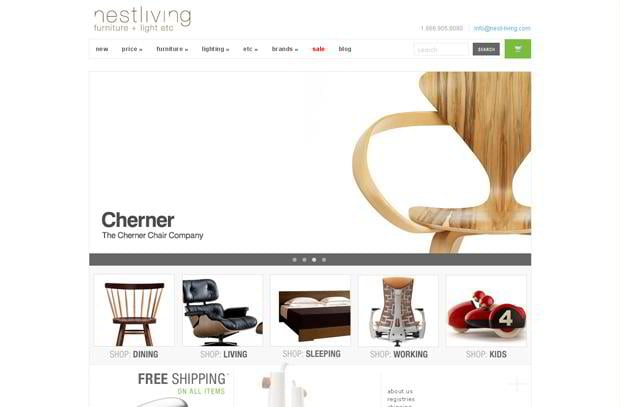wordpress video blog web design - Monsoori.com