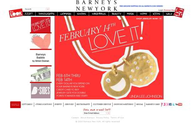 valentine custom design – Barneys.com
