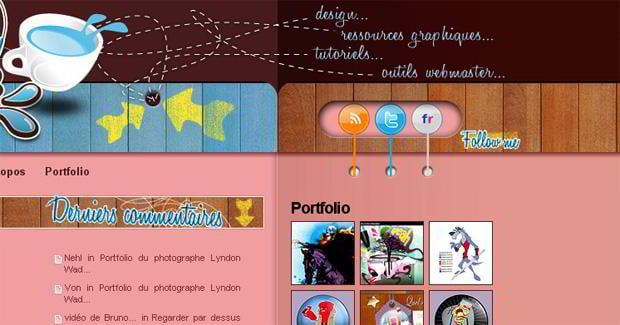 rss icon design – Bleumocca.com