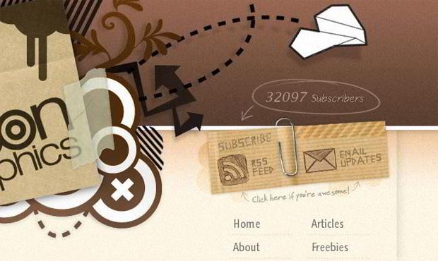 rss design – Blog.spoongraphics.co.uk