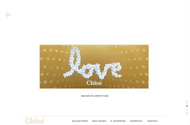 valentine web design – Chloe.com