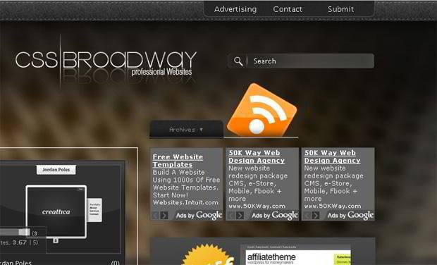 rich site summary design – Css-broadway.com
