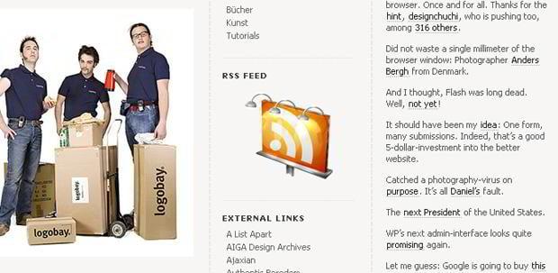 rss web design – Freelenz.at