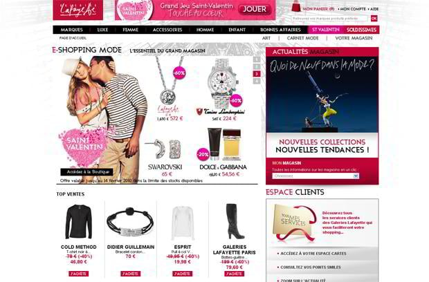 valentine website customization – Galerieslafayette.com