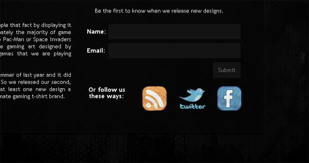 rss icon design – Gamerprint.co.uk
