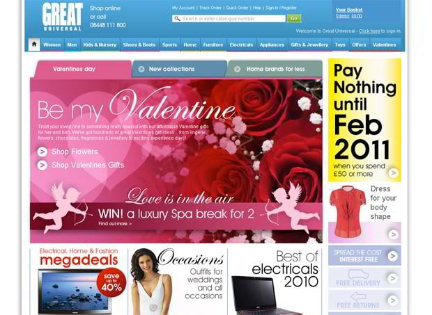 valentine website customization – Greatuniversal.com