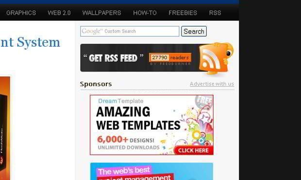 rich site summary icon design – Hongkiat.com