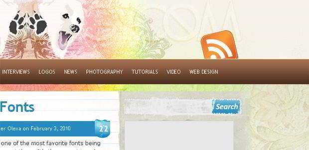 rss icon design – Inspiredology.com