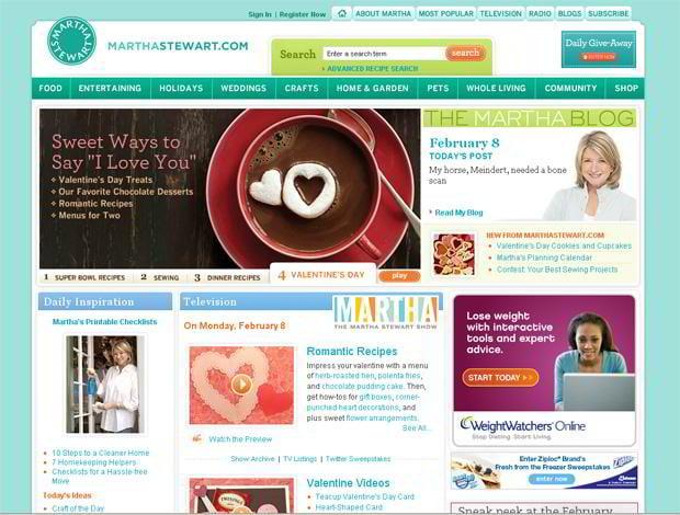 valentines custom design – Marthastewart.com