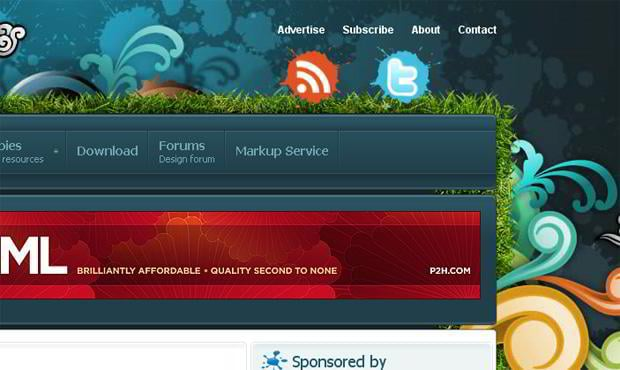 rss icon web design – Psdeluxe.com