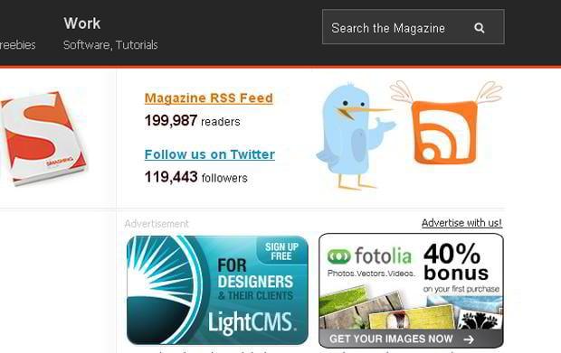 rich site summary icon web design – Smashingmagazine.com