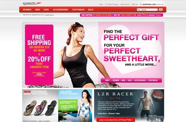 valentines website design – Speedousa.com