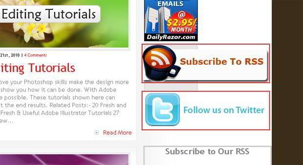 rich site summary icon design – Thedesignmag.com