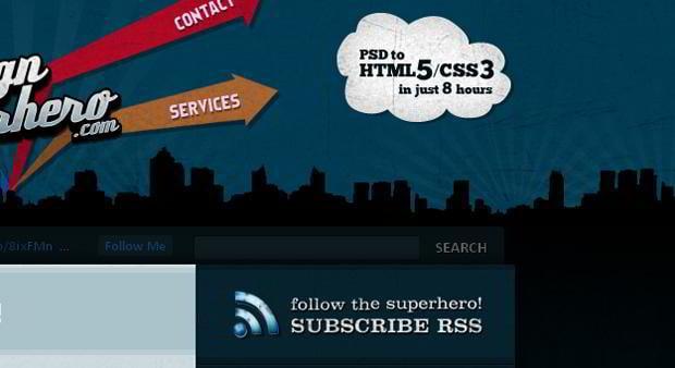 rss design – Thedesignsuperhero.com