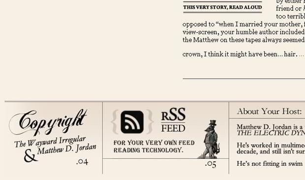 rss web design – Waywardirregular.com