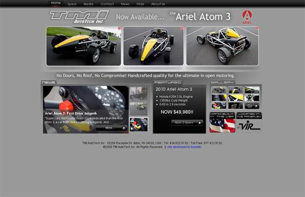 car web design - Arielatom