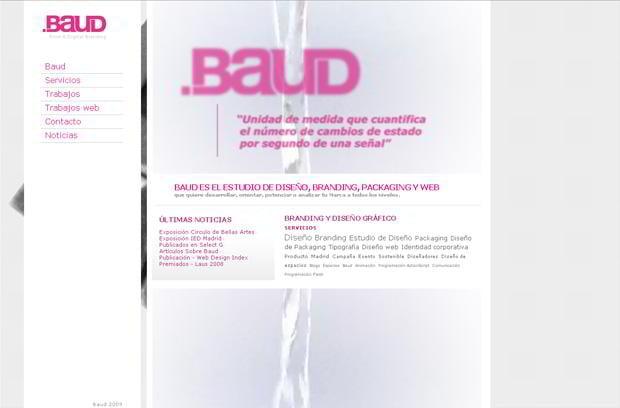 portfolio website wordpress theme - Baud.es