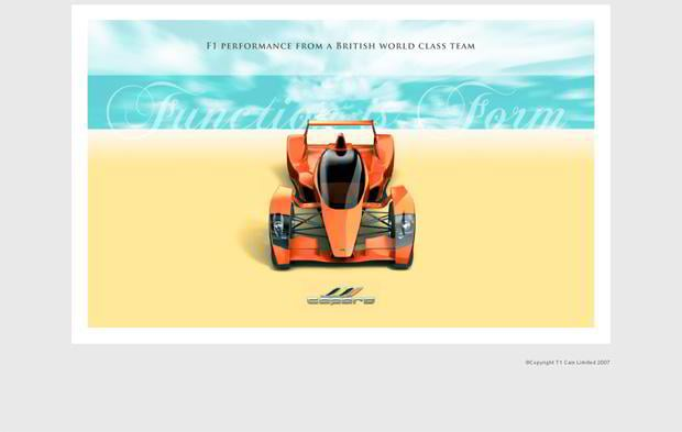 car web design - Caparo