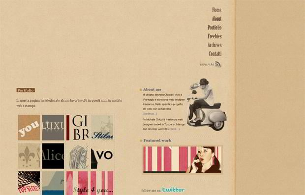 wordpress portfolio design - Colazionedamichy.it