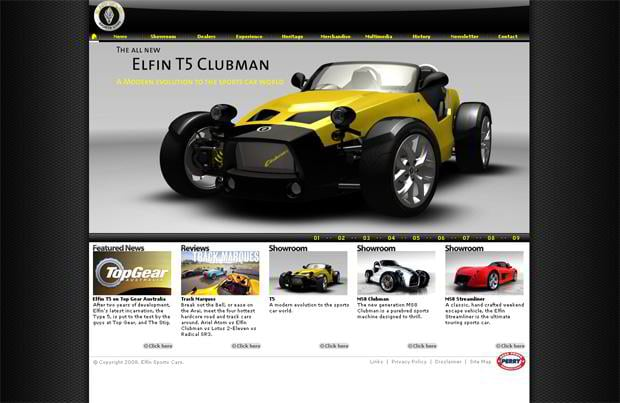 car design - Elfin