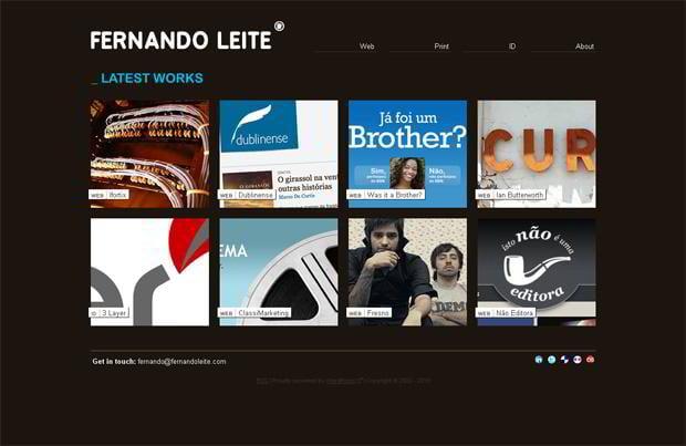 portfolio wordpress theme - Fernandoleite.com