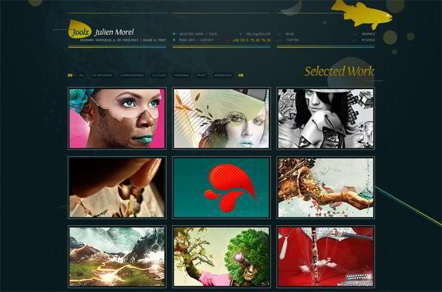 portfolio wordpress theme - Joolz.fr