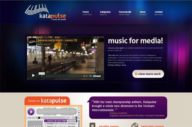 wordpress video blog - Katapulse.com